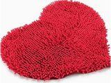 Red Fluffy Bathroom Rugs Amazon Com Elegantstunning Red Heart Love Microfiber