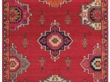 Red White and Blue Americana area Rugs oriental Weavers Bohemian 1801r area Rug