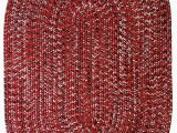 Red White and Blue Braided Rugs Aarush Hand Braided Red White area Rug