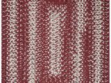 Red White and Blue Braided Rugs Homespice Ultra Durable Braided Barn Red area Rugs