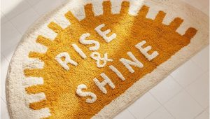 Rise and Shine Bath Rug Rise and Shine Bath Mat