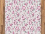 Roses Department Store area Rugs Amazon Ambesonne Shabby Flora area Rug Pink Roses with
