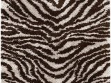 Round Animal Print area Rugs Chandra Rugs Amazon 79 Round area Rug Ama5604 79rd Zebra