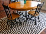 Round area Rug for Under Kitchen Table 30 Rugs that Showcase their Power Under the Dining Table