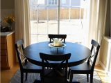 Round area Rug for Under Kitchen Table How to Place A Rug with A Round Dining Table