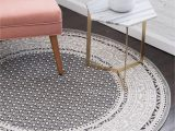 Round area Rugs 5 X 5 Gray 5 X 5 Tribeca Round Rug area Rugs