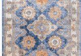 Round Blue oriental Rugs Nuloom Vintage Deloris Faded Rug In 2020