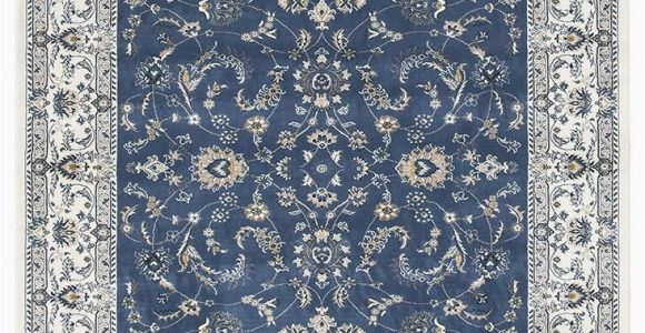 Round Blue oriental Rugs Patricia 20 Blue White Traditional Rug A Classic Selection