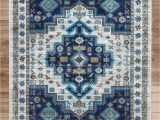 Round Blue oriental Rugs Round Lexy oriental Power Loom Aqua Rug