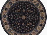 Round Navy Blue area Rug Navy Blue Round 8×8 Oushak Agra oriental area Rug