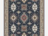 Royal Blue and Gold area Rug Ademi Royal Blue Rug In 2020