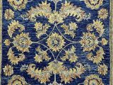 Royal Blue and Gold area Rug Amazon Blue and Gold Royal Jacobean area Rug Furniture