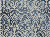 Royal Blue and Grey Rug Safavieh Dip Dye Ddy 511 area Rugs