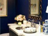 Royal Blue Bathroom Rug Set Blue and Gold Bathroom Accessories