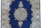 Royal Blue oriental Rug Navy Blue 6 7 X 9 10 Kerman Persian Rug