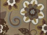 Rubber Backed area Rugs 4×6 Amazon Majestic Looms Dav5 Beige Brown Floral Non Slip