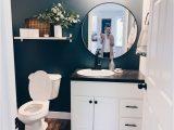Rug for Half Bath Half Bath Makeover Transforming Our Builder Grade Bathroom
