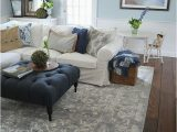 Rug with Blue Accents 21 Living Room Ideas with Blue Accents for Your Home