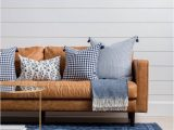Rug with Blue Accents Blue Rug Leather Couch Blue Rugs Living Room Leather