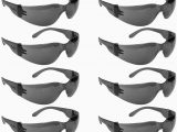 Rugged Blue Safety Glasses Malta Dynamics Tinted Safety Glasses E Size Anti Scratch Impact Resistance 12 Pack Ansi Pliant