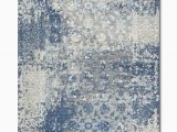 Rugs Blue and Gray Gossamer Blue Grey area Rug