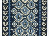 Rugs with Blue In them Blue New Handwoven Turkish Kilim Rug 6 1 X 7 8 73 In X 92 In