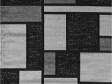 """Rugshop Contemporary Modern Boxes area Rug Rugshop Contemporary Modern Boxes Design area Rug 6 6"""" X 9"""