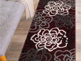 Rugshop Contemporary Modern Boxes area Rug Rugshop Contemporary Modern Floral Flowers area Rug 2 X 3