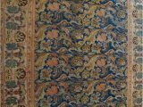 Rust and Blue area Rugs org Antique Repro Floral Blue Rust area Rug Last Chance