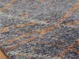 Rust and Gray area Rug Regal Vivid Style