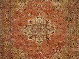 Rust Colored 8×10 area Rug Regal theology