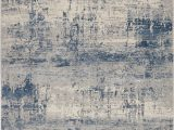 Rustic area Rugs for Sale Rustic Textures Rus10 Ivory Blue Rustic Textures area