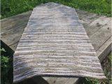 Rustic Farmhouse Bathroom Rugs Rustic Bath Mat Natural Fiber Rug Linen Bath Mat