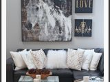 Rustic Living Room area Rugs Rustic Glam Living Room New Rug Setting for Four