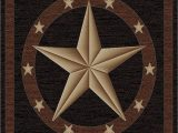Rustic Texas Star area Rugs 3 11 W X 5 3 L Rustic Lodge Texas Star area Rug 3 11