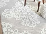Sackett Light Gray area Rug foret De Piegnesf05 Cathedral Medallion Rug