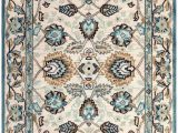 Safavieh Antiquity Grey Blue Beige Rug Safavieh Antiquity at812b area Rug Peacock Blue 2 X 3 Accent