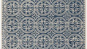Safavieh Blue and Ivory Rug Safavieh Cambridge Cam123g Navy Blue Ivory area Rug