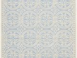 Safavieh Blue Wool Rug Safavieh Cambridge Cam123a Light Blue Ivory area Rug