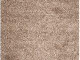 Safavieh California solid Plush Shag area Rug or Runner Beige & White Shag