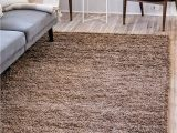 Safavieh California solid Plush Shag area Rug or Runner Unique Loom solo solid Shag Collection Modern Plush Sandy Brown area Rug 8 0 X 10 0