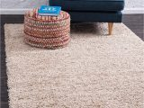 Safavieh California solid Plush Shag area Rug or Runner Unique Loom solo solid Shag Collection Modern Plush Taupe area Rug 9 X 12