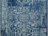 Safavieh Evoke Ivory Blue Rug Safavieh Evoke Evk256a Navy and Ivory area Rug