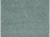 "Safavieh Lavena solid Plush Shag area Rug athens Shag Collection 5 1"" X 7 6"" Rug In Seafoam"