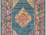 Safavieh Madison Vintage Tribal Blue orange Rug Rug Mad133a Madison area Rugs by Safavieh
