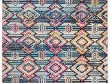 Safavieh Madison Vintage Tribal Blue orange Rug Rug Mad455z Madison area Rugs by Safavieh