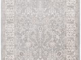 Safavieh Stratford Collection Wool area Rug Stratford Floral Gray area Rug