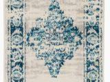 Safavieh Vintage Persian Blue Multi Distressed Rug Distressed Vintage Persian oriental Blue area Rug