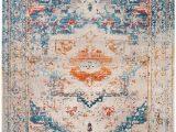 Safavieh Vintage Persian Blue Multi Distressed Rug Rug Vtp438b Vintage Persian area Rugs by Safavieh