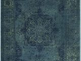 "Safavieh Vintage Persian Blue Multi Distressed Rug Safavieh Vintage Collection Vtg158 2220 Traditional Distressed Viscose area Rug 2 7"" X 4 Blue Multi"